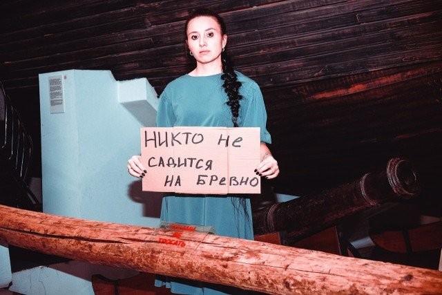Сотрудники Красноярского краеведческого музея на карантине (9 фото)
