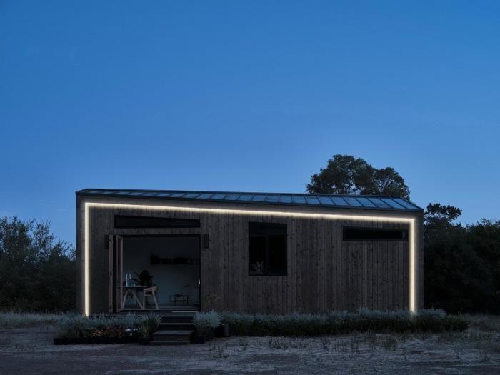 Модульный дом в Калифорнии (11 фото)