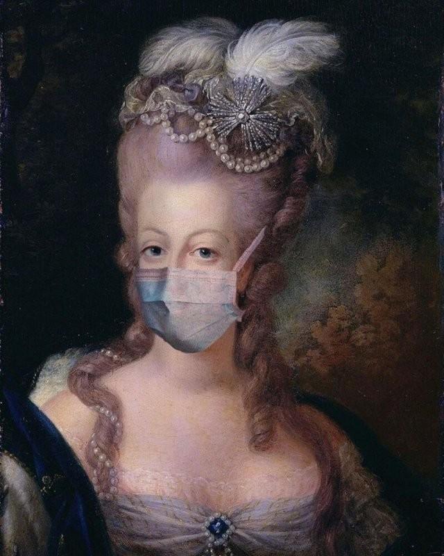 Если бы их рисовали во время пандемии коронавируса (15 фото)