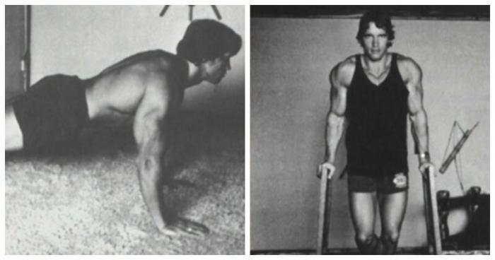 Арнольд Шварценеггер поделился программой домашних тренировок(11 фото)