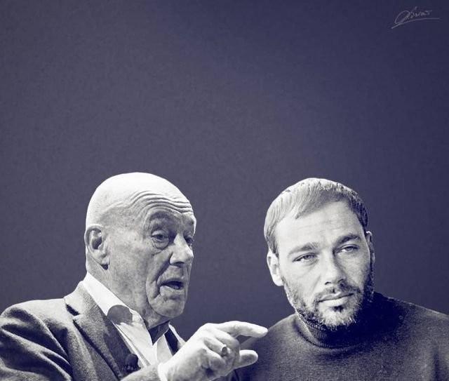 Объединение прошлого и настоящего отечественные знаменитости (25 фото)