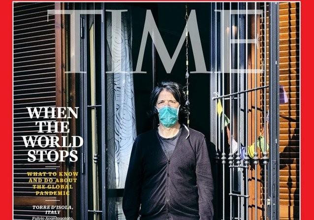 Как выглядят обложки мировых изданий в эпоху коронавируса (15 фото)