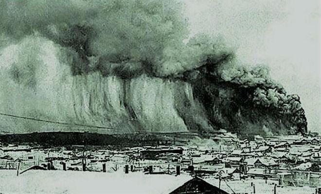 Засекреченное цунами на Курилах (3 фото)