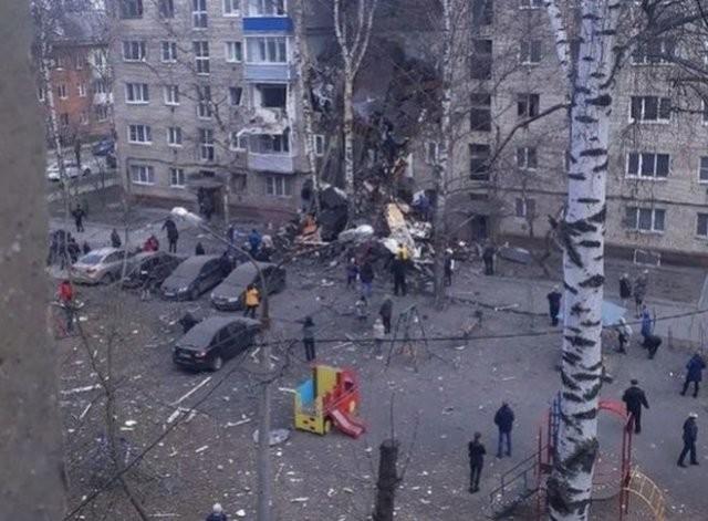 В жилом доме в Орехово-Зуеве прогремел взрыв — есть погибшие (3 фото)