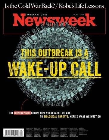 Как мировые СМИ реагируют на коронавирус (19 фото)