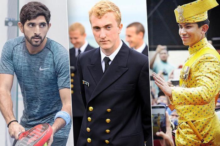 Холостые принцы из разных стран (6 фото)