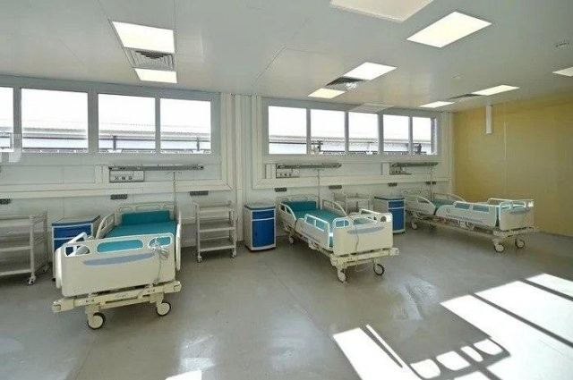 Что уже готово в строящейся инфекционной больнице в Москве (5 фото)
