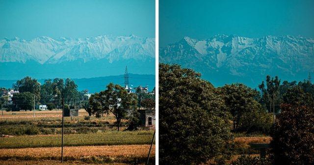Как очистился воздух в Индии за время карантина (6 фото)