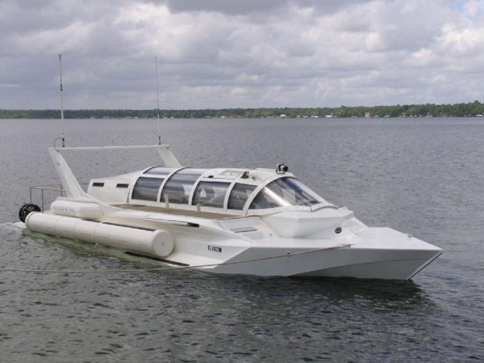 Эксклюзивные частные подводные лодки (11 фото)