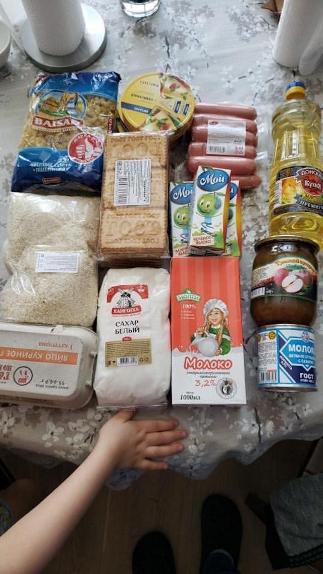 Продуктовые наборы для школьников России на период карантина (19 фото)