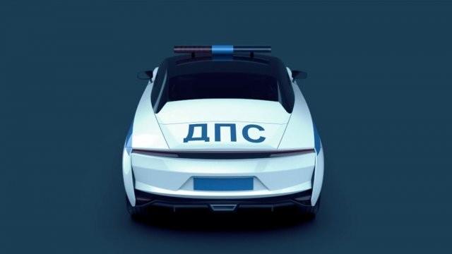 Студенты создали спорткар для ГИБДД под названием «Крым» (13 фото)