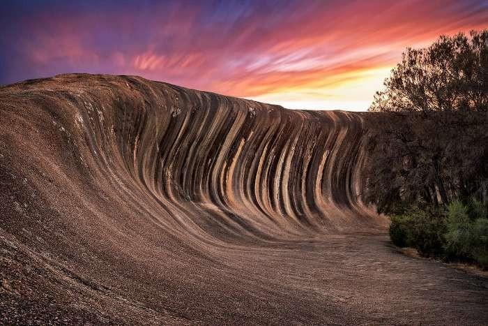 Поразительная каменная волна в Австралии (10 фото)