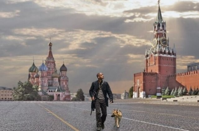 Немного о Москве на самоизоляции (14 фото)