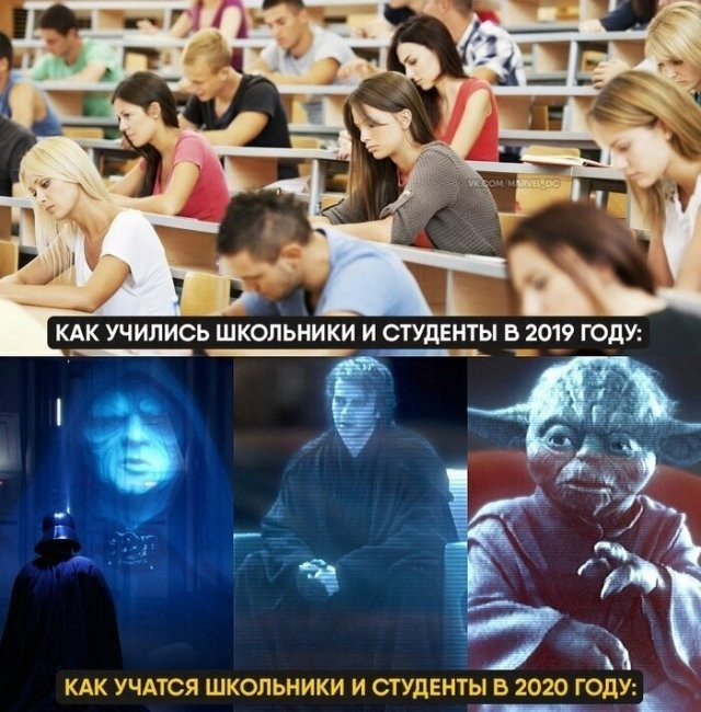Мемы и шутки про дистанционное обучение (13 фото)