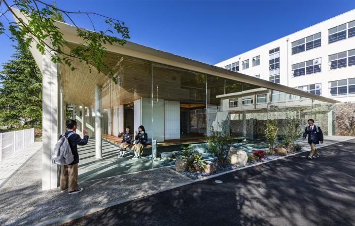 Начальная и средняя школа в Японии (28 фото)
