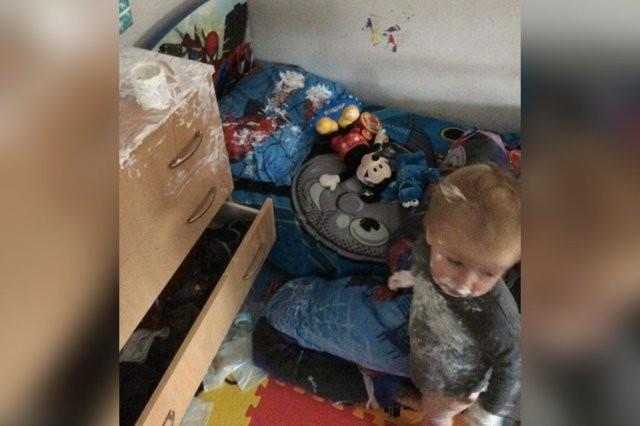 Детские шалости во время карантина (10 фото)