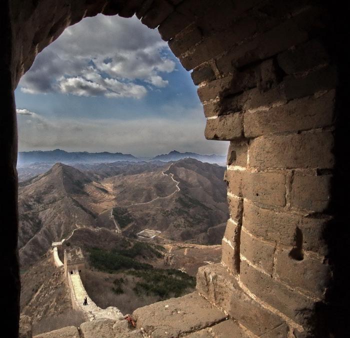 Прогулка по Великой китайской стене (16 фото)