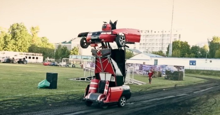 Концепты машин, умеющих трансформироваться (8 фото)