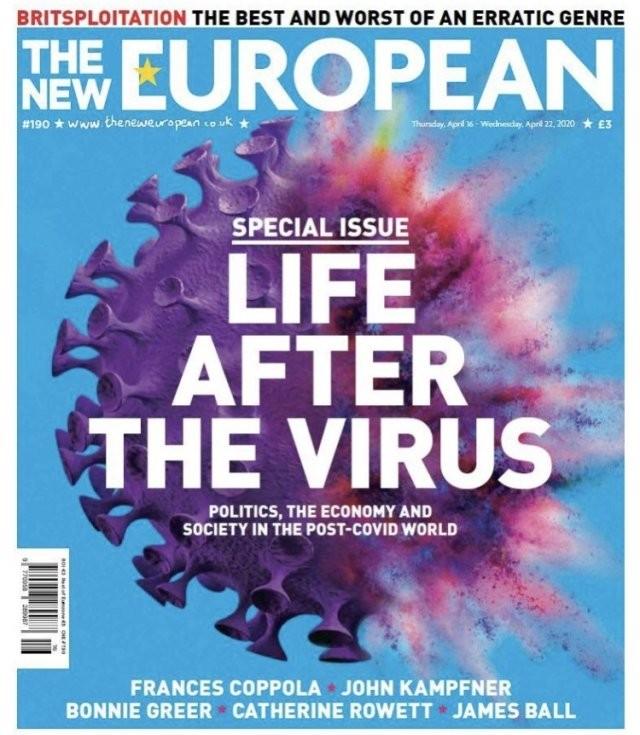 Обложки мировых СМИ о коронавирусе (15 фото)