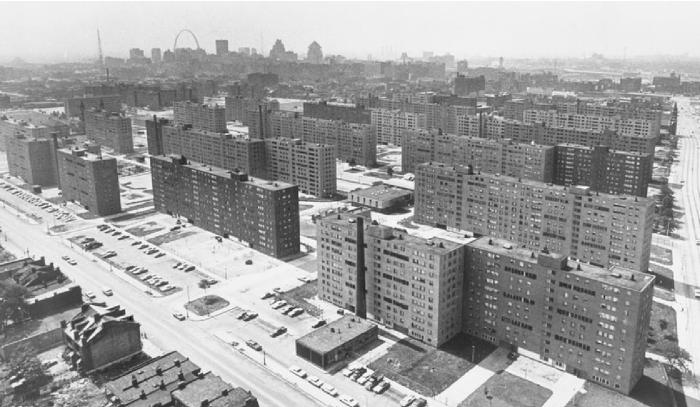 Почему в США не прижилась застройка типовыми многоэтажками (5 фото)