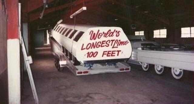 Самый длинный лимузин в мире (19 фото)