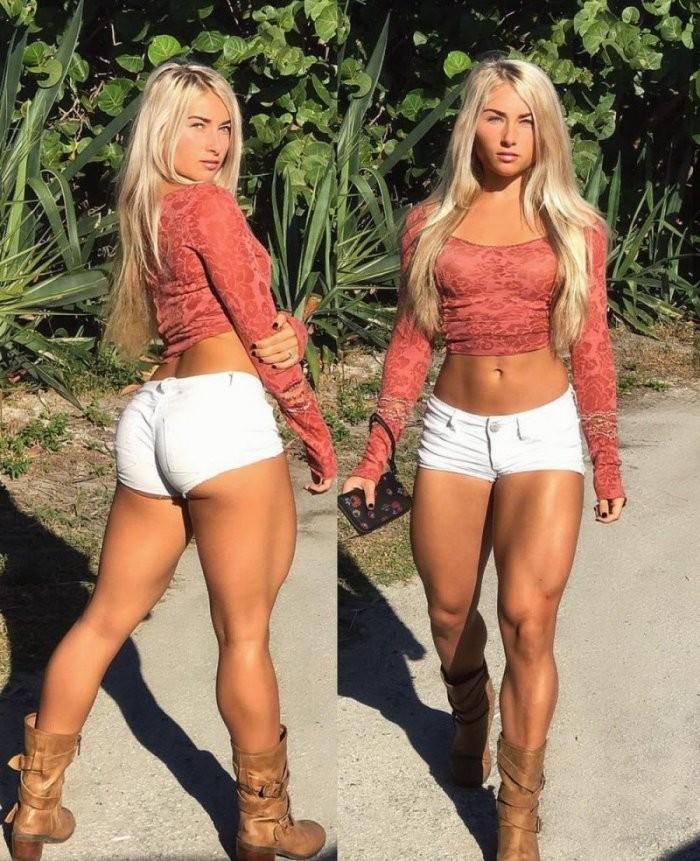 Девушки в шортиках (28 фото)
