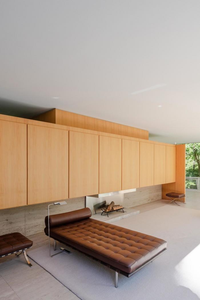 «Стеклянный дом» легендарного архитектора Людвига Мис (27 фото)