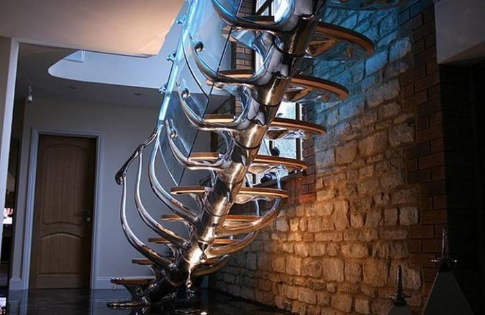 Дизайнерские лестницы, которые дарят эстетический восторг (25 фото)