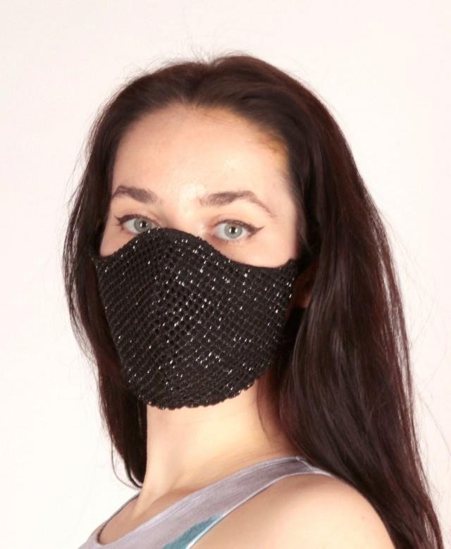 Модные маски для лица, чтобы защититься от COVID-19 (15 фото)