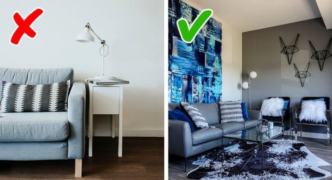 Тенденции дизайна интерьера, которые не полезны и не уютны (7 фото)