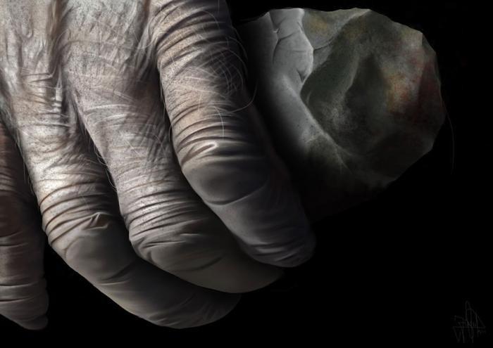 Художник рисует необыкновенные картины пальцем на iPad (24 фото)