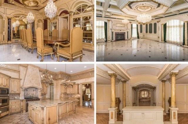 """""""Золотой"""" особняк в Америке за 6,4 миллиона долларов (13 фото)"""