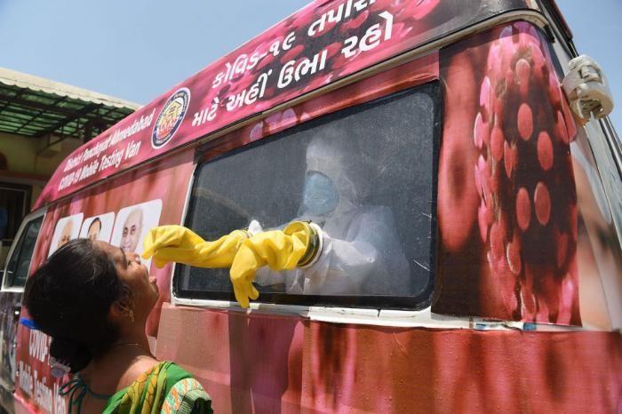 Индия во время коронавируса (20 фото)