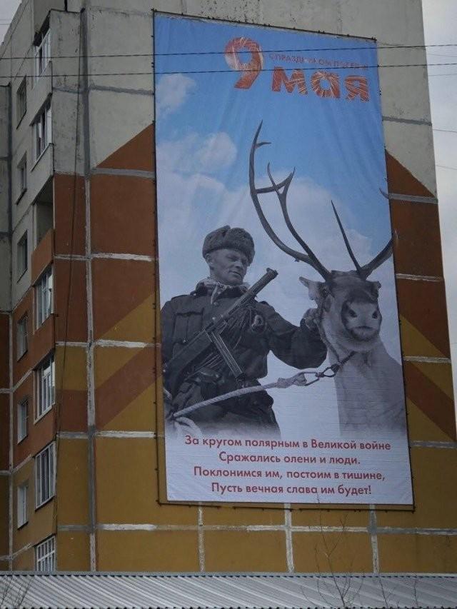Очередной плакатный фейл в преддверии 9 мая (2 фото)