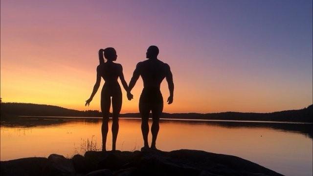 Ия Остергрен - модель из Швеции с невероятно длинными ногами (8 фото)