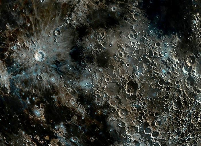 Самый чёткий в мире снимок лунных кратеров (4 фото)