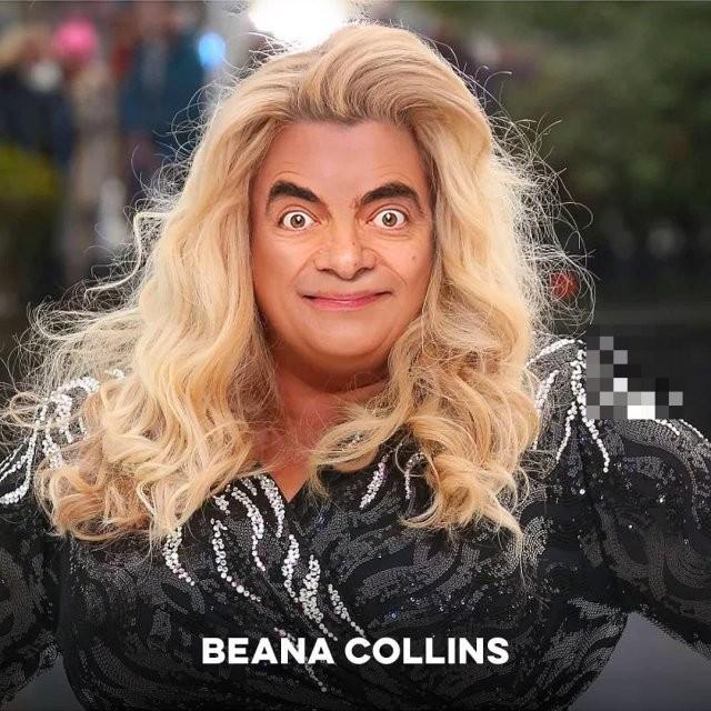 Добавил знаменитостям лицо Мистера Бина – и вот что получилось (15 фото)