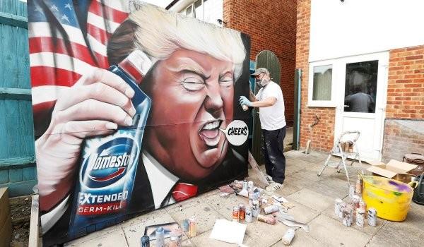 Подборка крутых граффити на тему коронавируса (18 фото)