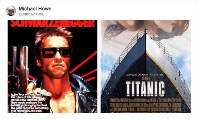 Подборка фильмов, которые были сняты одними и теми же (17 фото)