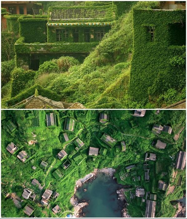 Заброшенная китайская деревушка снова привлекает людей (7 фото)