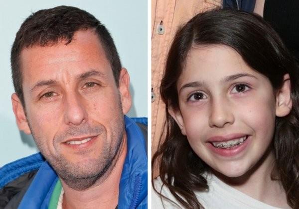 Сила генетики: дети, которые невероятно похожи на родителей (18 фото)