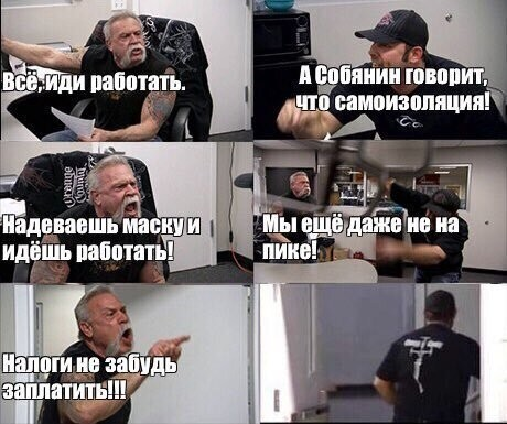Реакция россиян на отмену периода нерабочих дней (15 фото)
