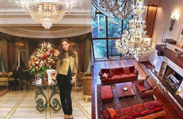 В каких квартирах живут отечественные знаменитости (10 фото)