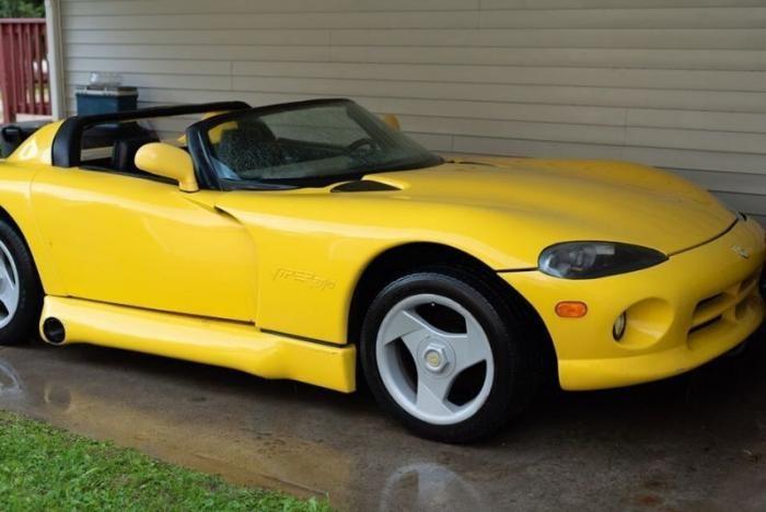 «ViperVette» — Dodge Viper скрестили с Chevrolet Corvette (5 фото)