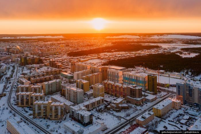 Якутск с высоты (10 фото)
