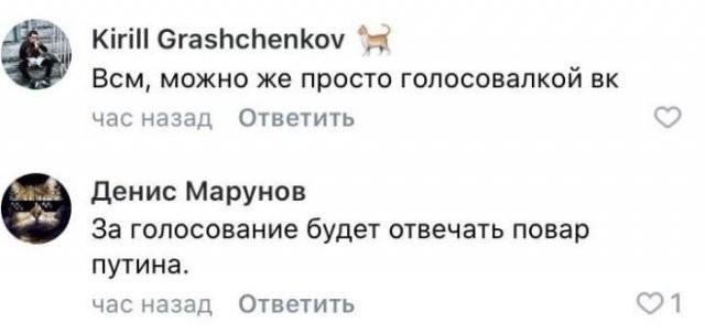 Реакция россиян на введение дистанционного голосования (8 фото)