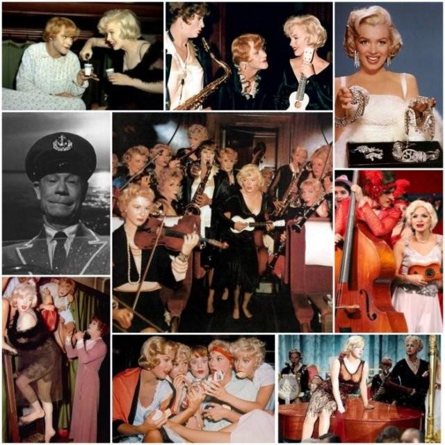 Архивные фотографии со съемок знаменитых фильмов (13 фото)