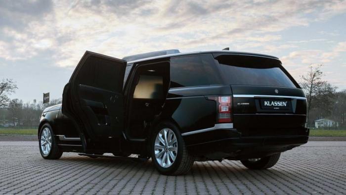 Длинный и пуленепробиваемый: доработали Range Rover Autobiography (13 фото)