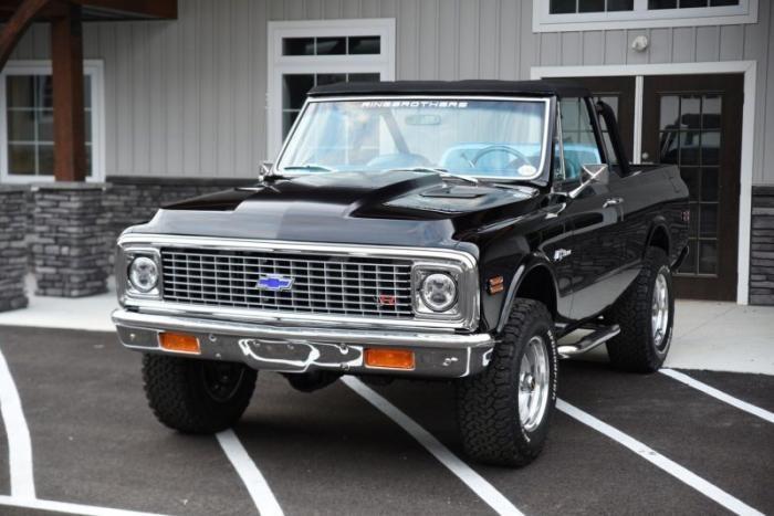 Chevrolet Blazer K5 1972 года от Ringbrothers — Правильный рестомод