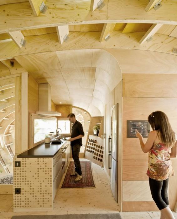 Эко-дом, построен за 15 дней, а жильцы не должны платить (12 фото)